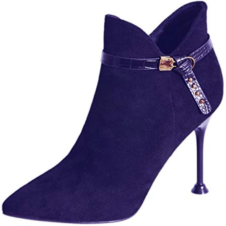 SFSYDDY Talons Chaussures Populaires/des Chaussures À Talons SFSYDDY Hauts avec des Talons 9Cm Bottes Mince Chelsea A des Petits... - B07HYCYFZP - c39ff6