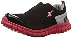 Sparx Mens Black and Red Mesh Running Shoes - 6 UK (SX0201G)