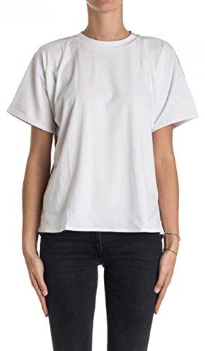 adidas Damen Icon T-Shirt, White/Blanco/Griuno, M (Womens Icon-t-shirt)