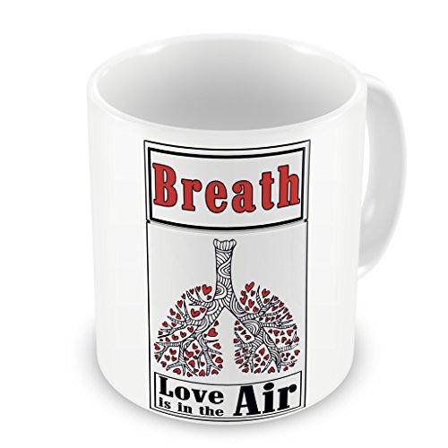 Tazza Mug Breath Love is in the air pacchetto sigarette - Divertente
