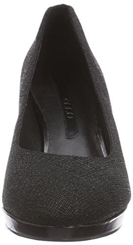 ECCO - Brooklyn, Scarpe col tacco Donna Nero(Black/Black 51052)