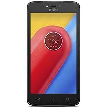 """Motorola Moto C - Smartphone de 5"""" (4 G, Bluetooth 4.2, procesador Quad Core, memoria interna de 16 GB, 1 GB de RAM, Android 7.0 Nougat) negro"""