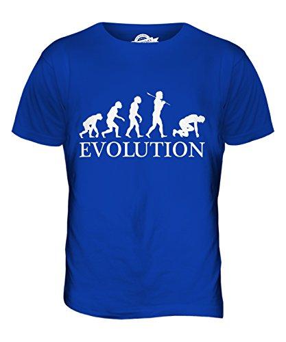 CandyMix Sprinter Sprint Läufer Evolution Des Menschen Herren T Shirt Königsblau