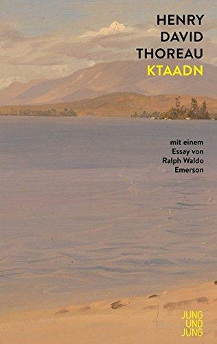 Buchseite und Rezensionen zu 'Ktaadn: Mit einem Essay von Ralph Waldo Emerson' von Henry David Thoreau