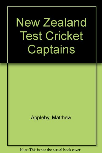 New Zealand Test Cricket Captains