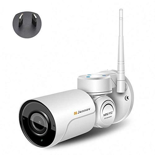 Cámara De Seguridad Para El Hogar HD 1080P Cámaras De Seguridad Wifi Cámara IP Impermeable Al Aire Libre Inalámbrica Con Visión Nocturna Para El Hogar/Oficina / Monitor De Bebé Para Mascotas.