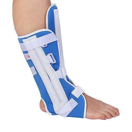 Sonew Fuß Tropfen Klammer Knöchel Unterstützung Knöchel Orthese Klammer justierbares Knie Gelenk Stützelastische Knöchel Verpackung(L) -