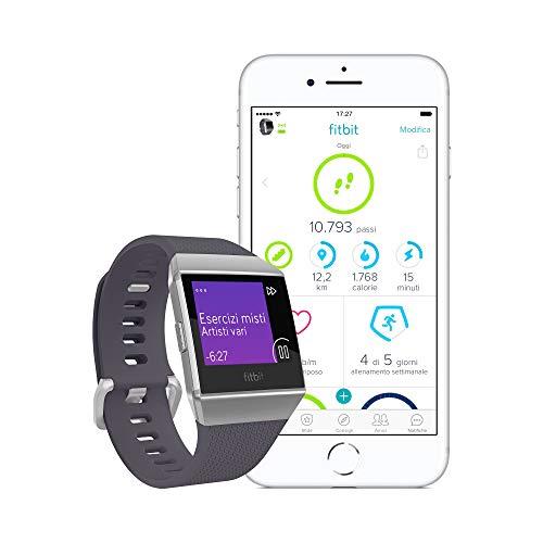 Zoom IMG-3 fitbit ionic fitness smartwatch blu