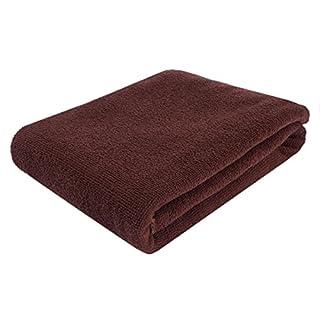 AFUT Microfiber Extra Large Luxury Bath Sheets Bath Towel Soft Absorbent Towel 55.1x27.6 inches-Coffe