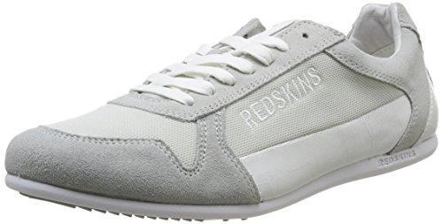 Redskins Soum, Baskets mode homme Gris (Gris/Blanc)