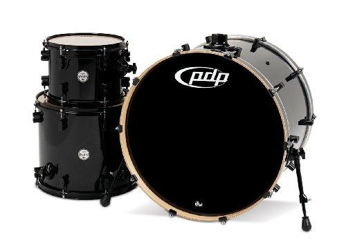 Pacific Drums PDCM2413PB Concept Series Drum-Set, 3-teilig, Perlglanzschwarz