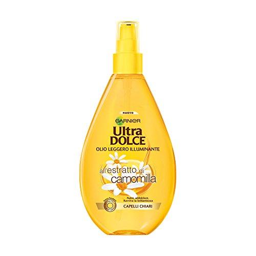 ultra doux l'huile légère éclairante a l'extrait de camomille 150 ml