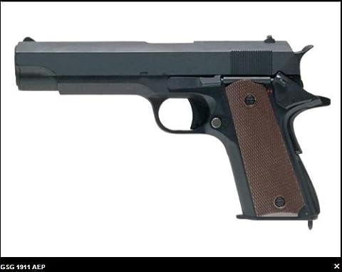 GS Pekl Softair - elektrische Softairpistole mit Speedloader - SEHR STABIL