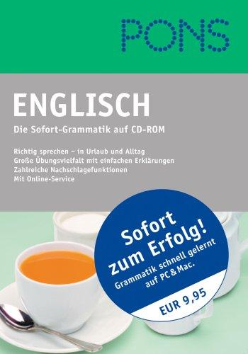 PONS - Sofort-Grammatik Englisch
