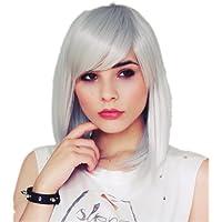 Cosplayland - C763 Parrucca 45cm capelli vellutati