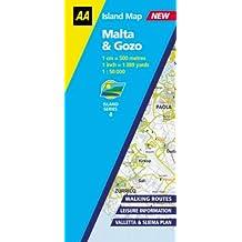 Malta and Gozo (AA Island Maps)