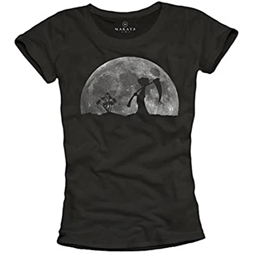 dia del orgullo friki Camiseta divertida para mujer - Diseno la muerte en el jardin