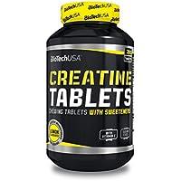 Biotech USA - Creatina en Tabletas - 200 tabletas - Limon