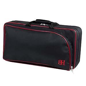 Ortola 5693 Etui pour 2 Clarinettes Noir/Rouge
