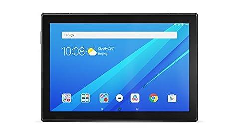 Lenovo Tab4 10 Tablet (10.1 inch,16GB,Wi-Fi + 4G LTE) Slate Black