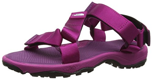 The North Face W Litewave, Sandali Sportivi Donna, Rosa (Fuschia Pink/Pamplona Purple), 38