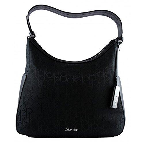 calvin-klein-womens-handbag-nina-logo-hobo-black