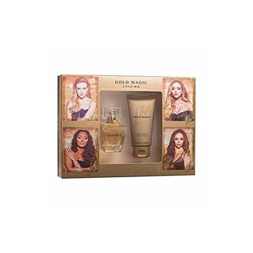 Little Mix Gold Magic Eau de Parfum set regalo per donne-50ml