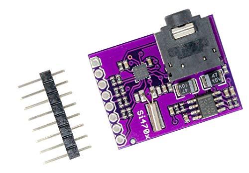 MissBirdler Si4703 FM Tuner Evaluation Board Entwicklungsboard für AVR ARM PIC, Arduino Fm-modul