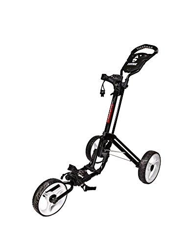 JEF WORLD OF GOLF JR826 Easy Fold Golf Cart, Black