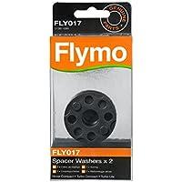 Flymo FLY017 Lot de 2 disques d'écartement pour tondeuse à coussin d'air