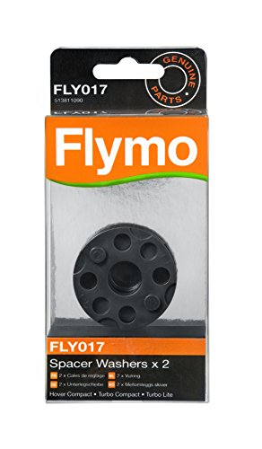 Genuine Flymo Spacer Washers x 2 to suit various Hover Lawnmowers FLY017 Test
