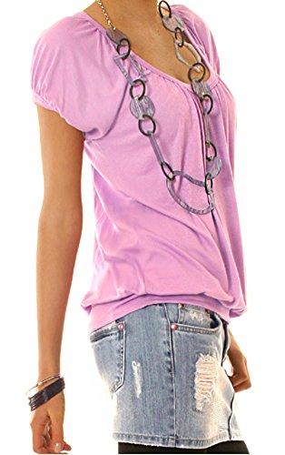 besty ledbe rlin Donna Shirt, Top t56a Flieder
