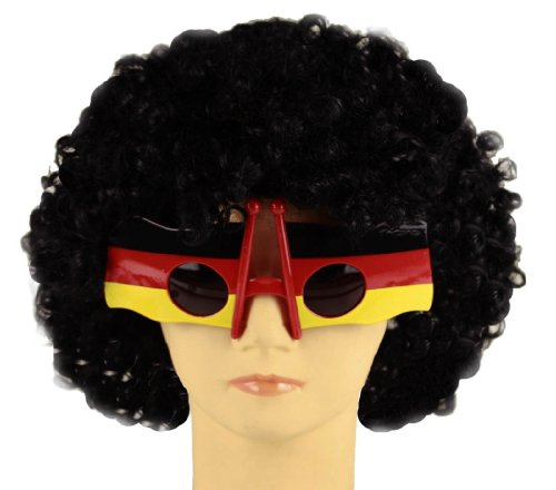HAAC Fan Gag Party Brille Flagge in Deutschlandsfarben Deutschland Fußball 2014