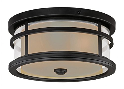 2-Inch Outdoor Flush Mount, Oil Rubbed Bronze by Vaxcel ()