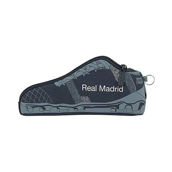 Safta Real Madrid 2 Estuches 24 cm, Azul
