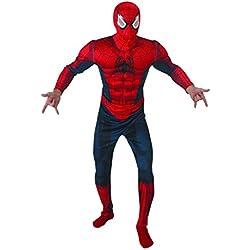Rubies Disfraz de Spiderman IT888869-STD, con músculos, talla única