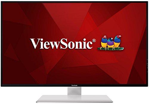 ViewSonic VX4380-4K 43-inch 4K UHD IPS monitor ( 3840x2160 10-bit colour DisplayPort HDMI mini DisplayPort USB Speakers) - Silver