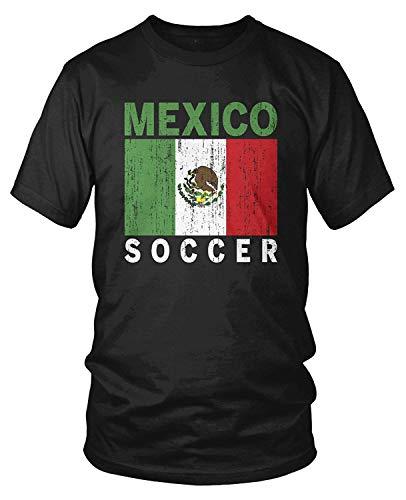 Kostüm Vektor - Men's Team Mexico Soccer, Football, Mexican Futbol T-Shirt XL