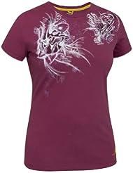Salewa Rockshow Tee-Shirt en coton pour femmes Violet Violet - Azalée/0010/2040