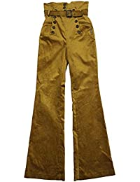 Highly Preppy Pantalón Cintura Alta Terciopelo para Mujer