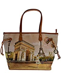 YNOT donna borsa shopping L-319 VIE EN UNICA Vie en 326445e284a