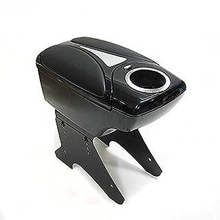 Black Universal Armrest Arm Rest Centre Console For Car Auto Van Bus