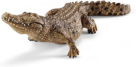 Schleich - 14736 - Figurine Animal - Crocodile   être Nouvelle Dans La Conception