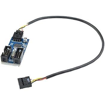 Datenkabel Sinnvoll Neue 15 Cm Usb 3.0 20pin Gehäuse Stecker Auf Motherboard Usb 2.0 9pin Weiblichen Kabel-adapter Für Desktop-computer Pc Mainboard