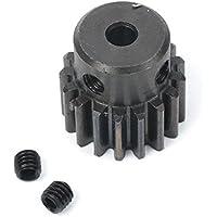 GZYF 1 Módulo 17T 4 mm Motor de taladro Metal 45# Rueda de engranaje de acero para hardware de motor (diámetro de paso 15 mm)
