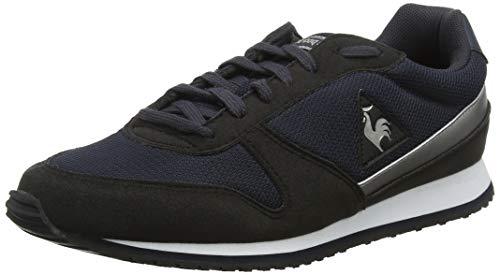 LE COQ SPORTIF Alpha II W Sport, Zapatillas para Mujer, Negro Black/Old Silver, 37 EU