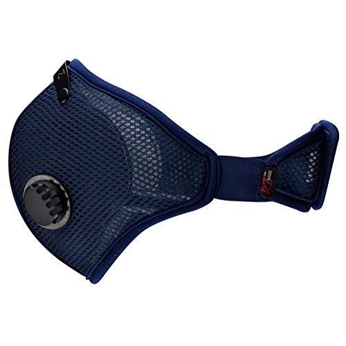 Rz mask m2 navy blue mesh mascarilla antipolvo con - Mascarillas con filtro ...