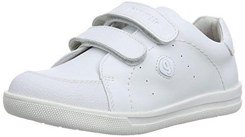 Garvalin 141750 Unisex-Kinder Sneaker Weiß (White/Napa)