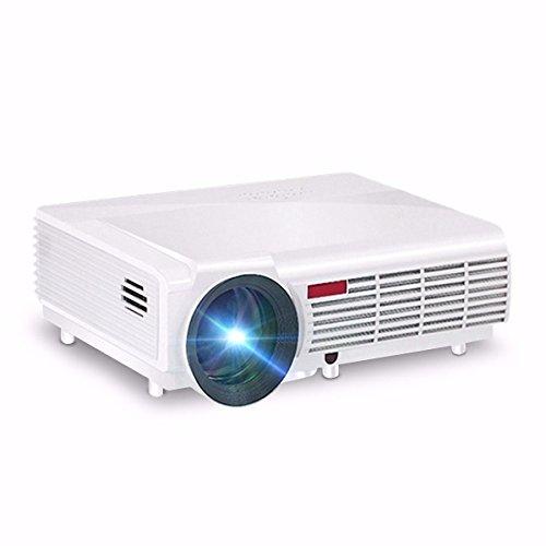 ELEGIANT Vidéoprojecteur WiFi HD LED Mini Projecteur Portable 3000 Lumes Multimédia Home Cinéma vidéo HD 1080P pour PC Portable/Smartphone /ipad/iphone/Samsung/sony etc.