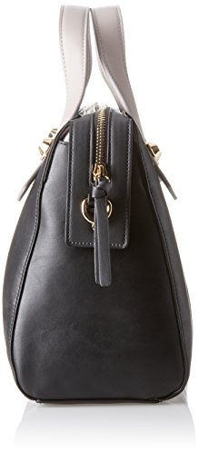 Gaudì Top Handle Bag Linea Angelica, Borsa a Mano Donna, 35 x 23 x 14 cm (W x H x L) Nero (Black)